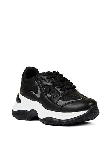 Sole Sisters Sole Sisters Darya Siyah Kadın Sneaker Siyah